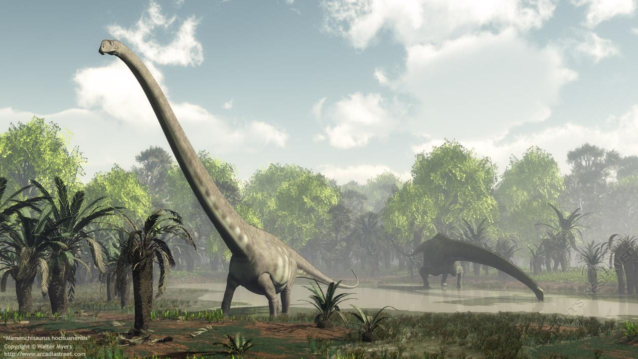 Mamenchisaurus hochuanensis